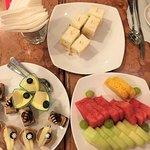 Hi-Tea for club floor guests served at Bistro!