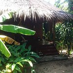 The front of our bungalow