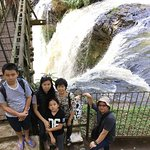 Omas Waterfall in Tahura Juanda Forest Park