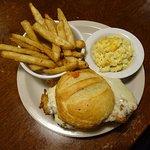 chicken parm sandwich/mac & cheese/fries