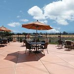 Enjoy time with your family or a glass of wine on our patio.