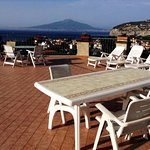 View to Vesuvius/sea-(terrace)