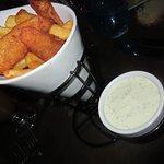 beignets de poulet/frites