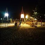 večeře na pláži