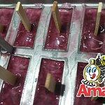 Fabricando Picolé do Amado de Uva