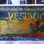 The iconic Vesuvio bar - just a few steps down the street