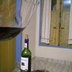 Um vinho e um queijo para comemorar!