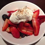 Fresh Berries with Mascarpone Cream