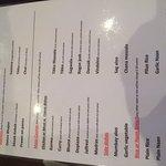 Sunday fixed price menu
