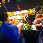 Try the local street food, it's amazing!!