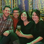 Lovin' the couch gang! It's science: Craft Beer makes people smile.