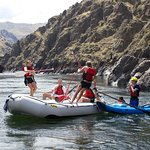River games on the Lower Salmon River four-day trip
