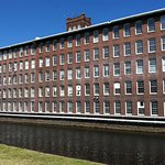 Set on the Pawtucket Canal in Lowell.