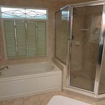 Jacuzzi Tub and Twin Head Shower - Very Clean