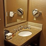 A picture of the King Suite bathroom.