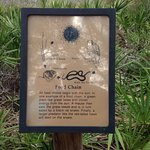 One of the many trailside information panels