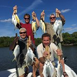 An awesome day of Pompano catching!