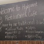 Highpoint Cafe & Restaurant
