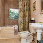 Victorian Parlor Bath ~Jetted tub elegance