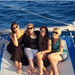 Sunset cruise!! I highly recommend going on this excursion!!