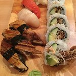 Fabulous seafood - get a seat on the sushi bar to watch the master in action!