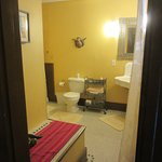 Tejas Room Bathroom View from Guest Room (Main House)
