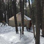 The Mulligan's Yurt