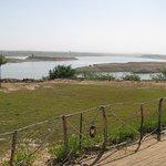 Rudramata Lake overseen from Kutch Safari Lodge