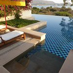 Private patio with direct access to the pool (not heated)