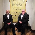Kenn Hartman and Dennis Yates celebrating 30 years anniversary. We met here in 1987.
