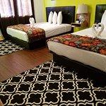Arrowhead Motel double room