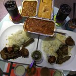 Takeaway set meal for two