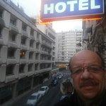 Au balcon de l'hôtel Kyriad Gobelins