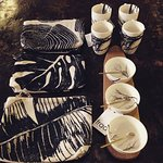 Cosmetic purses and great designer table ware