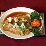 Wok Fried Sea Bass, yummy yummy !