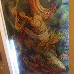 Beautifully Handpainted Ceiling