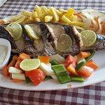 Freshly prepared Kingfish