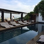 Very pleasant boutique hotel in an interesting area of Rio. Great staff and place to sit around