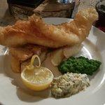 Wedding breakfast! Fish & Chips