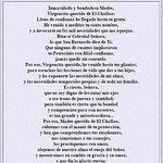 Oración a Ntra Sra de Lourdes del Challao