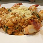 Excellent Risotto with shrimp!!