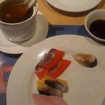 Mediocre sashimi, pork rib should ok