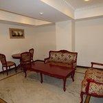 Sitting area, Junior suite.