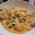 Breakfast, Shrimp & Grits at Hotel Indigo restaurant