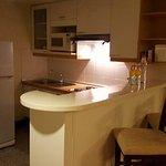 Küchenbereich mit allem drum und dran