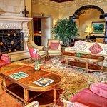 Lobby lounge.