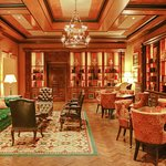 The card room - exquisitely designed.