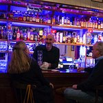 Welcoming bar with wide selection of whiskies, gins and vodkas, as well as local beers