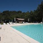 Notre grande piscine chauffée