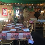 Fun atmosphere & delicious food